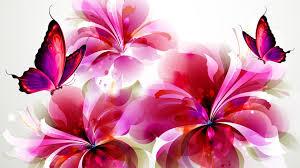 butterflies and flowers wallpaper hd desktop background