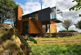 interior of shipping container homes grand designs shipping container house built by farmer to find his