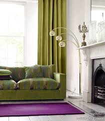 Living Room Curtains Silk Java Lime Green Faux Silk Eyelet Curtains