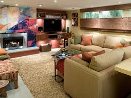 living room cute cool basement ideas with fireplaceamazing
