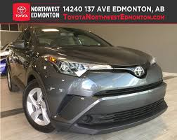 lexus edmonton hours new 2018 toyota c hr from toyota northwest edmonton in edmonton