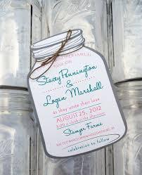 Mason Jar Wedding Programs Mason Jar Invitations Wedding Sunshinebizsolutions Com