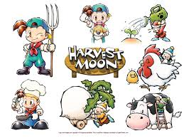 harvest moon wallpapers high resolution harvest moon wallpapers