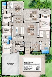 floorplan of a house house plan 207 00031 contemporary plan 3 591 square 4