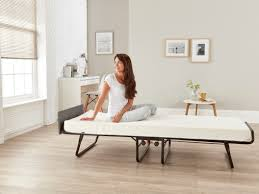Single Folding Bed Jay Be Visitor Single Folding Guest Bed With Contract Grade Mattress