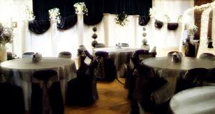 black and white wedding decorations black white and silver wedding decoration black silver wedding