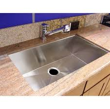 Ss Undermount Kitchen Sinks by 36 Inch Stainless Steel Undermount Single Bowl Kitchen Sink Zero