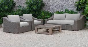 Wicker Vanity Set Palisades Outdoor Beige Wicker Sofa Set Inside Remodel 15