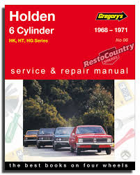 holden hk ht hg 6cyl workshop service repair manual 1968 71