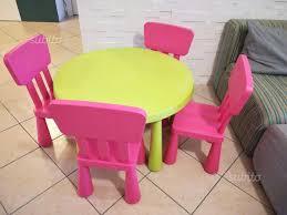 tavolo ikea mammut tavolo e 4 sedie ikea mammut tutto per i bambini in vendita a