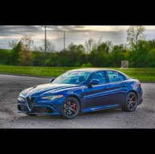 high powered alfa romeo giulia quadrifoglio meets michigan winter