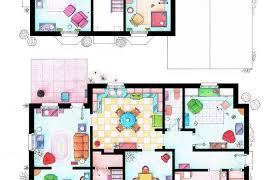 simpsons house floor plan house of simpson family both floorplans by homer bart modern plans