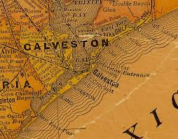 map of galveston galveston county