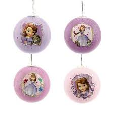 disney princess sofia the ornaments 4 ct