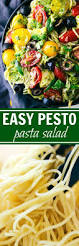 spaghetti with pesto and veggies chelsea u0027s messy apron