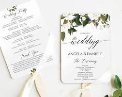 cheap wedding fan programs wedding program fan diy printable file rustic yellow