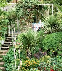 20 sloped backyard design ideas in steep slope garden