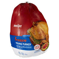 frozen whole turkey whole turkeys meijer