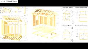 Diy Wood Shed Plans Free by Saltbox Shed Plans Free Outdoor Diy Wooden Playhouse At Corglife