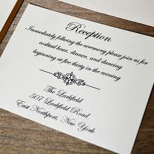 Wedding Invitations And Reception Cards What Insert Cards Are Needed With Your Wedding Invitations Paper