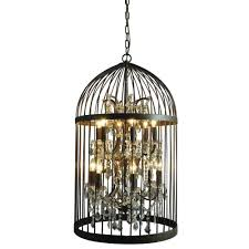 y decor cage chandeliers hanging lights home depot