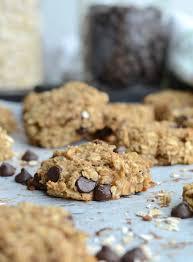 flourless peanut butter banana oatmeal cookies vegan