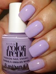 wendy u0027s delights avon color trend nail enamel grape gelato