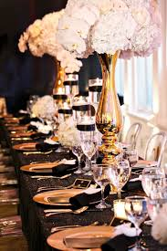 30th Birthday Dinner Ideas Black And Gold Party Inspiration Gold Party Couture And Events