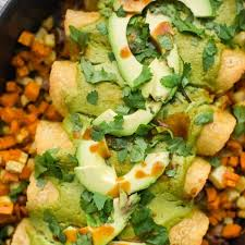 Fall Root Vegetables - root vegetable enchiladas with cilantro avocado sauce naturally ella