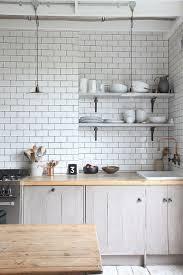 Small White Kitchen Ideas Best 25 White Tile Kitchen Ideas On Pinterest Subway Tile