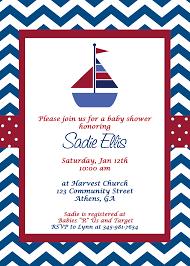 nautical baby shower nautical baby shower invitations stephenanuno
