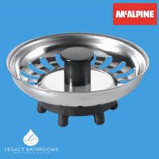 Replacement Kitchen Sink Strainer Waste Plug BSKTOP Rubber Finger Seal - Kitchen sink strainer