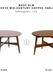 West Elm Coffee Table Daily Find West Elm Reeve Mid Century Coffee Table Copycatchic