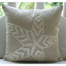 Pearl Home Decor Decorative Throw Pillow Covers Accent Couch Bed Pillows 16x16