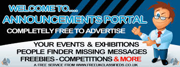 completely free finder announcements general messages finder