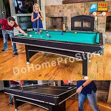 tabletop ping pong table pool table billiard balls cue tennis tabletop ping pong paddles 2 in