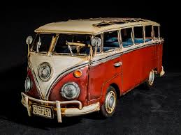 volkswagen type 2 red silver and white volkswagen type 2 diecast free image peakpx