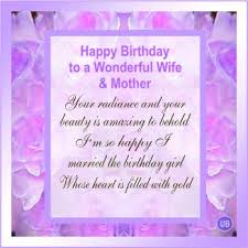57 best birthday mother wife images on pinterest birthday