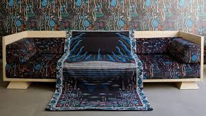 Black Lake Furniture And Textile Collection Inspired By Iceland - Lake furniture