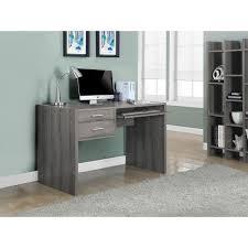 monarch specialties corner desk dark taupe decorative desk