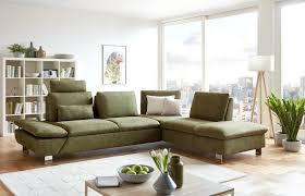 Wohnzimmer Einrichten Poco Poco Polstermöbel Antigua Ecksofa Grün Möbel Letz Ihr Online Shop