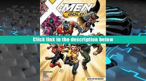 book x men gold vol 1 back to the basics full book video