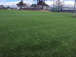 Football Field In Backyard Installing Artificial Grass Fife Washington Backyard Sports