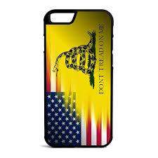Rebel Flag Iphone 4 Case Amazon Com American Gadsden Flag Iphone 6 6s 4 7