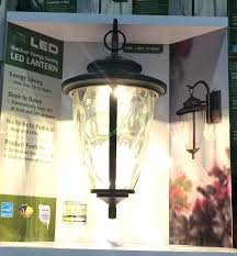 altair lighting outdoor led lantern with optional arm kit altair lighting outdoor led lantern costco costco