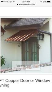 Nationwide Awnings Copper Awnings Copper Awning Awn1 Awnings Pinterest House