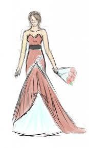 anime dress sketch anime wedding dress drawing wedding