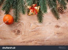 gold christmas ornaments food decor fir stock photo 346052714