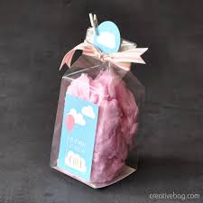 cotton candy wedding favor the creative bag cotton candy favor inspiration