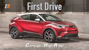 2018 toyota c hr will new 2018 toyota c hr first drive review youtube